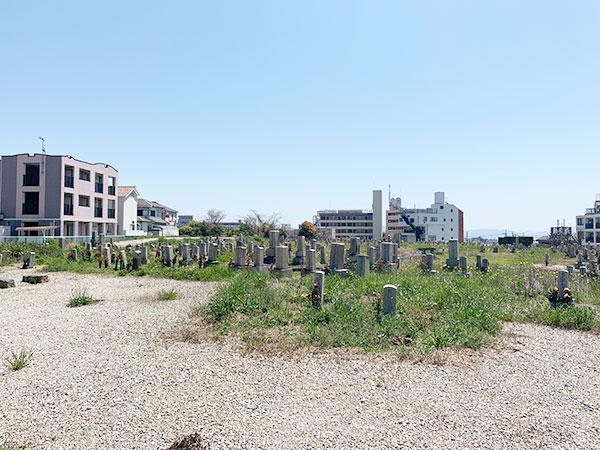 三昧山墓地(明石市魚住町)