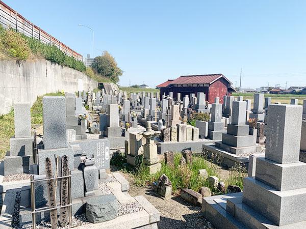 清水新田墓地(明石市魚住町)