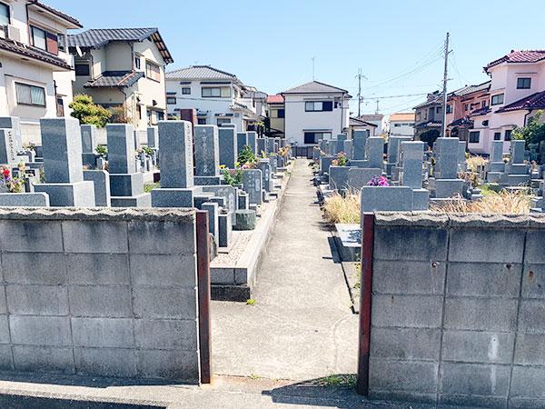 山川墓地(明石市魚住町)