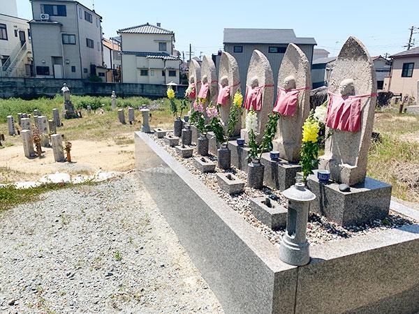 西町墓地(明石市西明石西町)