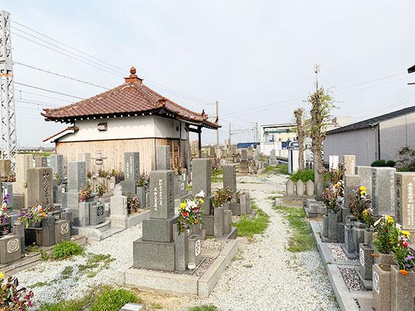 東江井墓地(明石市大久保町)