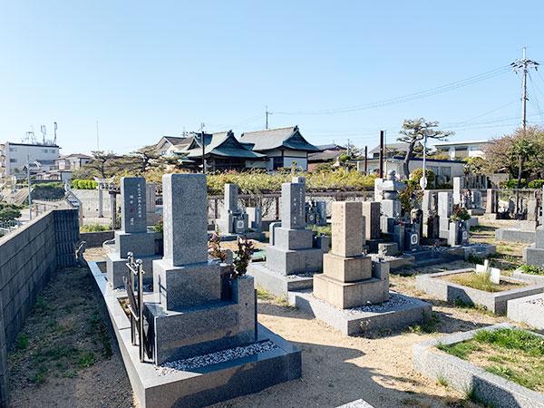 江井ヶ島海浜墓地(明石市大久保町)