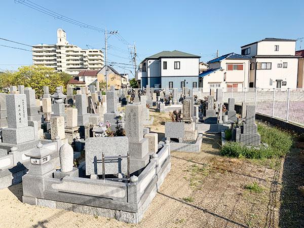 森田共同墓地(明石市大久保町)