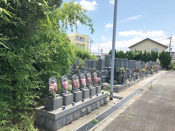 長光寺墓地(明石市大久保町)