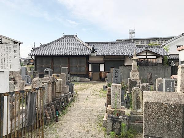 極楽寺墓地(明石市二見町)