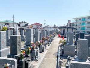 明石満福寺墓地(明石市魚住町)のお墓の写真