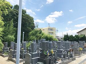 長光寺墓地(明石市大久保町)のお墓の写真