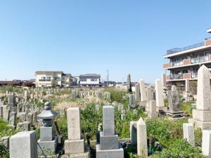 東二見大三昧墓地(明石市二見町)のお墓の写真