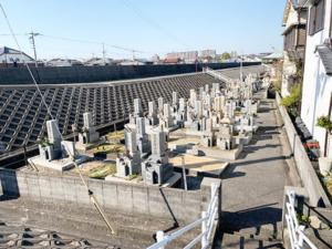 東島墓地(明石市大久保町)のお墓の写真