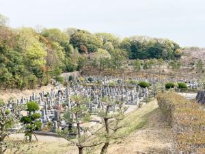 明石市立石が谷霊園の霊園写真