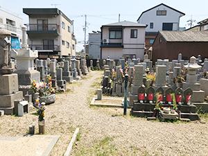 十輪寺墓地(明石市西新町)のお墓・霊園の写真