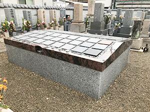 観音寺墓地(明石市二見町)永代供養墓の写真