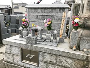 観音寺墓地(明石市二見町)のお墓の写真