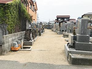 教泉寺墓所(明石市大久保町)のお墓の写真