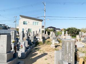 森田共同墓地(明石市大久保町)のお墓の写真