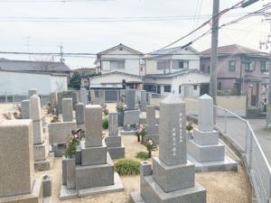 西江井墓地(明石市大久保町)のお墓の写真
