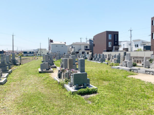 大窪墓地(明石市大久保町)のお墓の写真