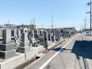 大見自治会墓地(明石市魚住町)のお墓の写真