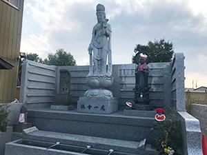 坂上寺墓地(明石市和坂)の永代供養墓の写真