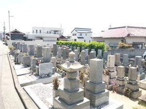 清水浜西墓地(明石市魚住町)のお墓の写真