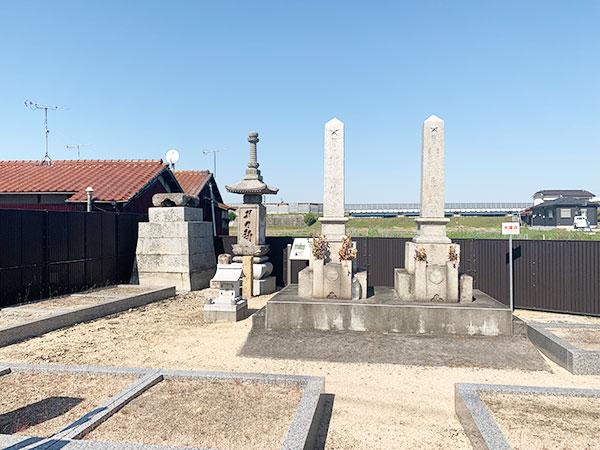 清水財産区墓地のお墓・霊園の写真