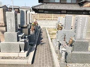 徳源寺墓地(明石市二見町)のお墓の写真