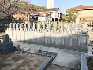 雲晴寺墓地(明石市人丸町)の永代供養墓の写真