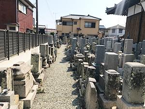 瑞應寺墓地(明石市二見町)のお墓の写真